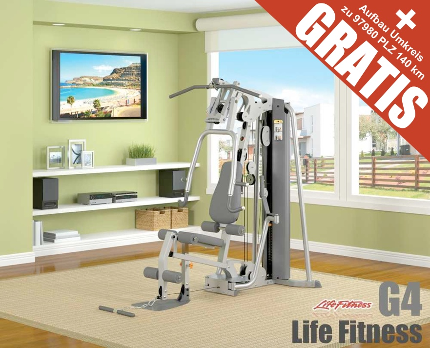 life fitness kraftstation g4 angebot kaufen life fitness kraftstation g4. Black Bedroom Furniture Sets. Home Design Ideas